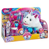 Little Live - RAINGLOW UNICORN Vet Set - Over 40 Sounds & Reactions